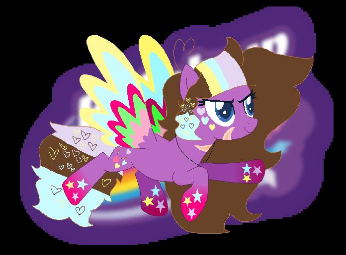 Magic clipart magic power. Controll rainbow by mixelfangirl