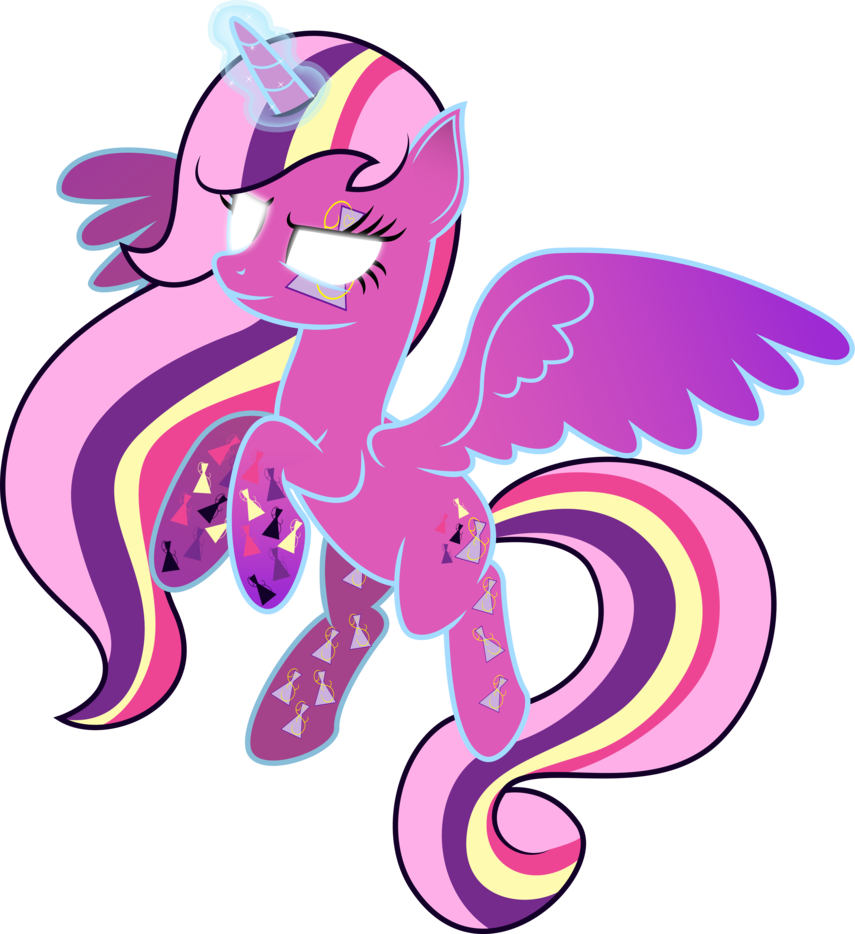 Flares midnight rainbow cutie. Magic clipart magic power