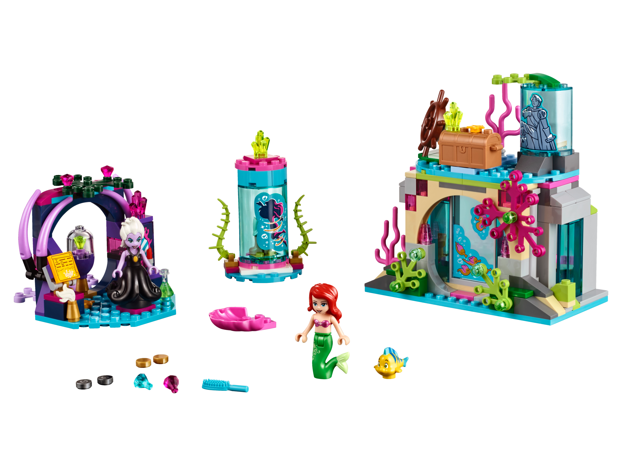 Ariel and the magic. Palace clipart castle lego