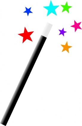 Wand clip art panda. Magic clipart magic stick