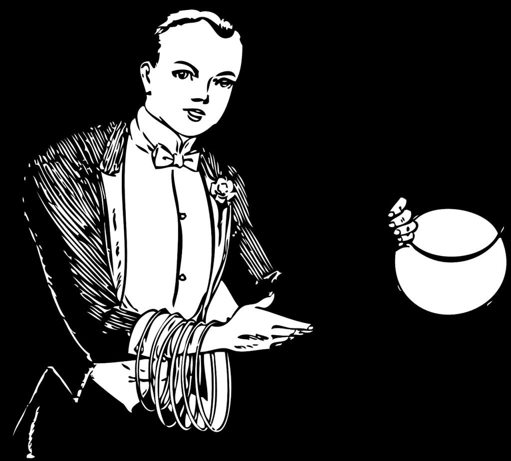 Magic clipart magic trick.  magician tricks revealed