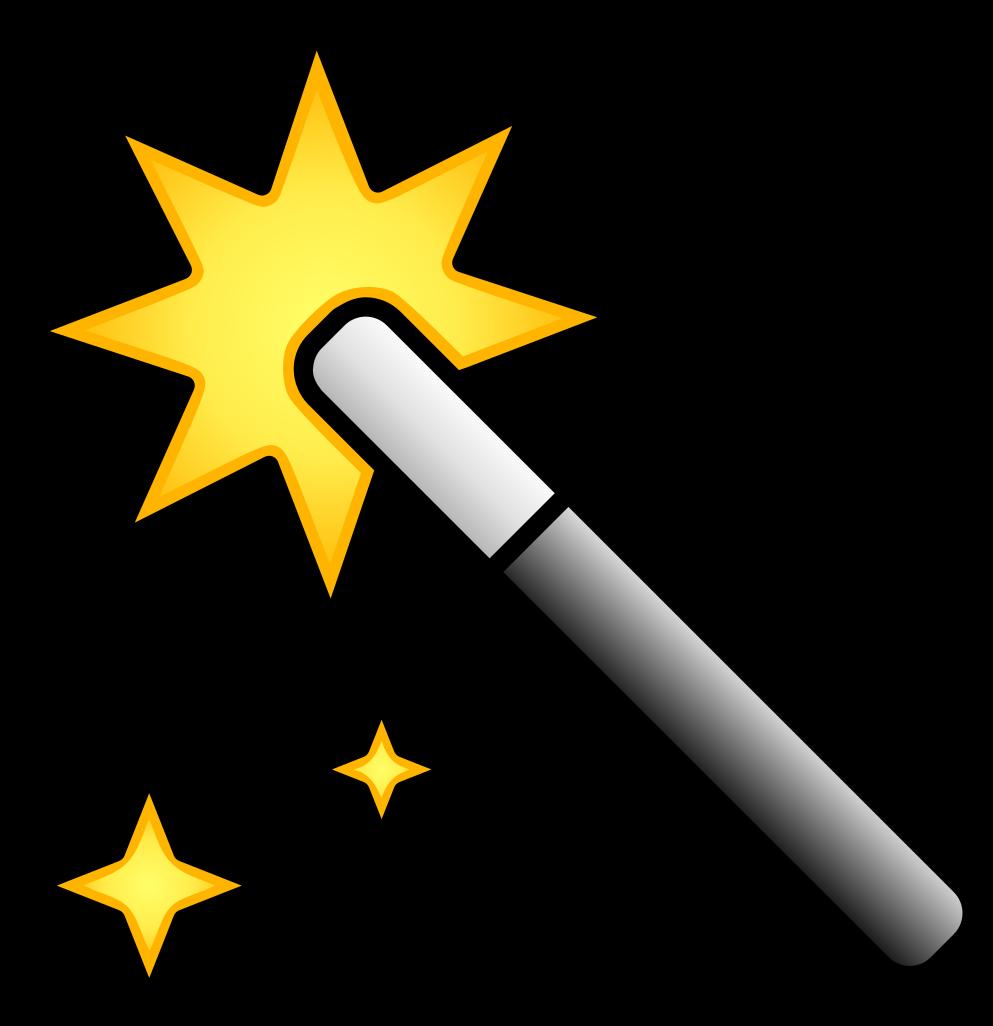 Magic clipart svg. File wand icon color