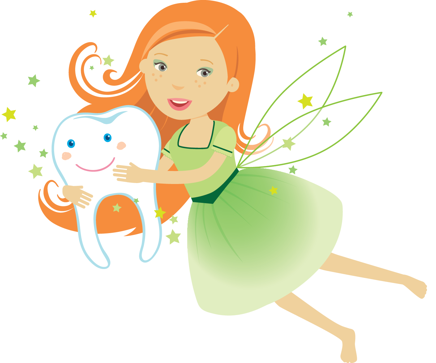 Tooth clipart angel.  ways to celebrate