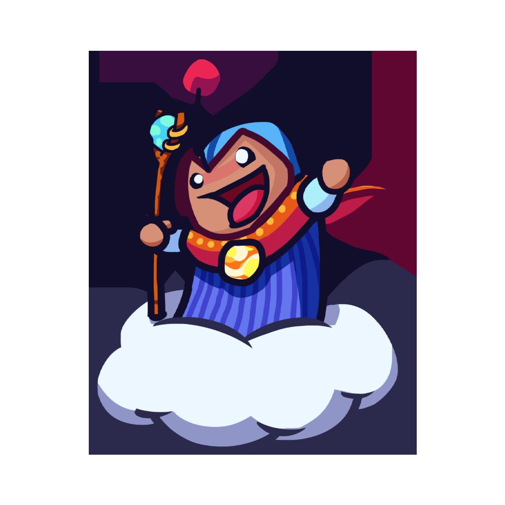 Magician clipart tricky. Weirdbeard promowizardpng