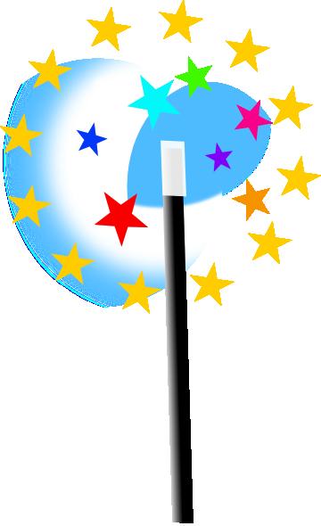 Small wand clip art. Magic clipart vector png
