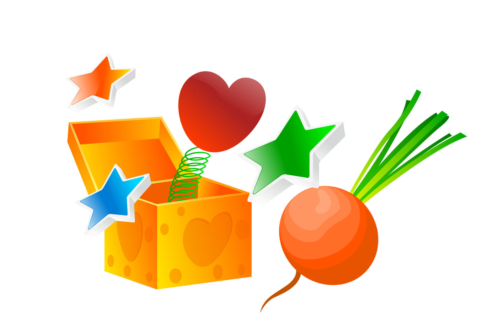 Magic clipart vector png. Valentine s day gift