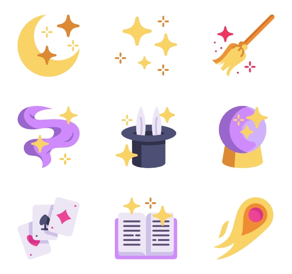 wand icon packs. Magic clipart vector png