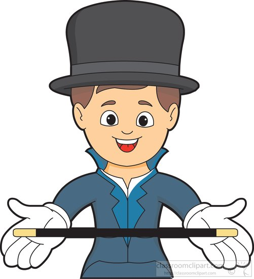 Magician clipart. Search results for clip