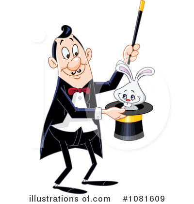 Illustration by yayayoyo royaltyfree. Magician clipart