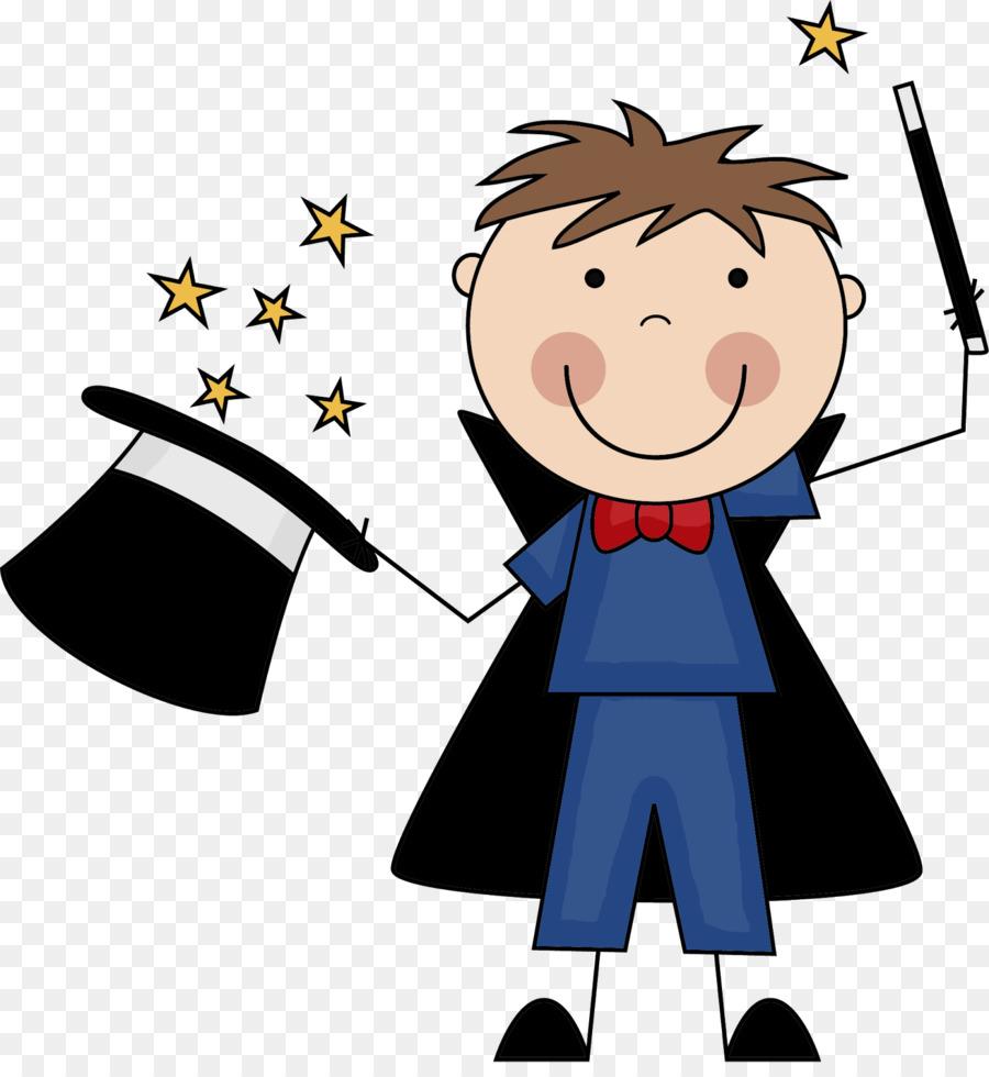 Magician clipart animated. Child cartoon magic boy