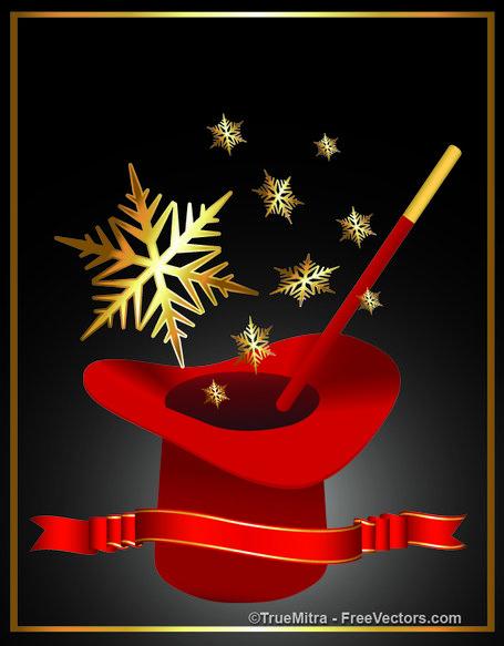 Magician clipart christmas. Free magics and vector