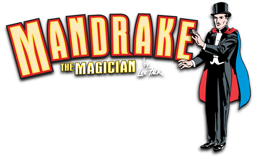 History mandrake the. Magician clipart comic