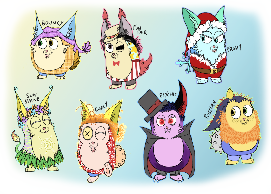 Minion clipart six. Tattletails by feralsonic on