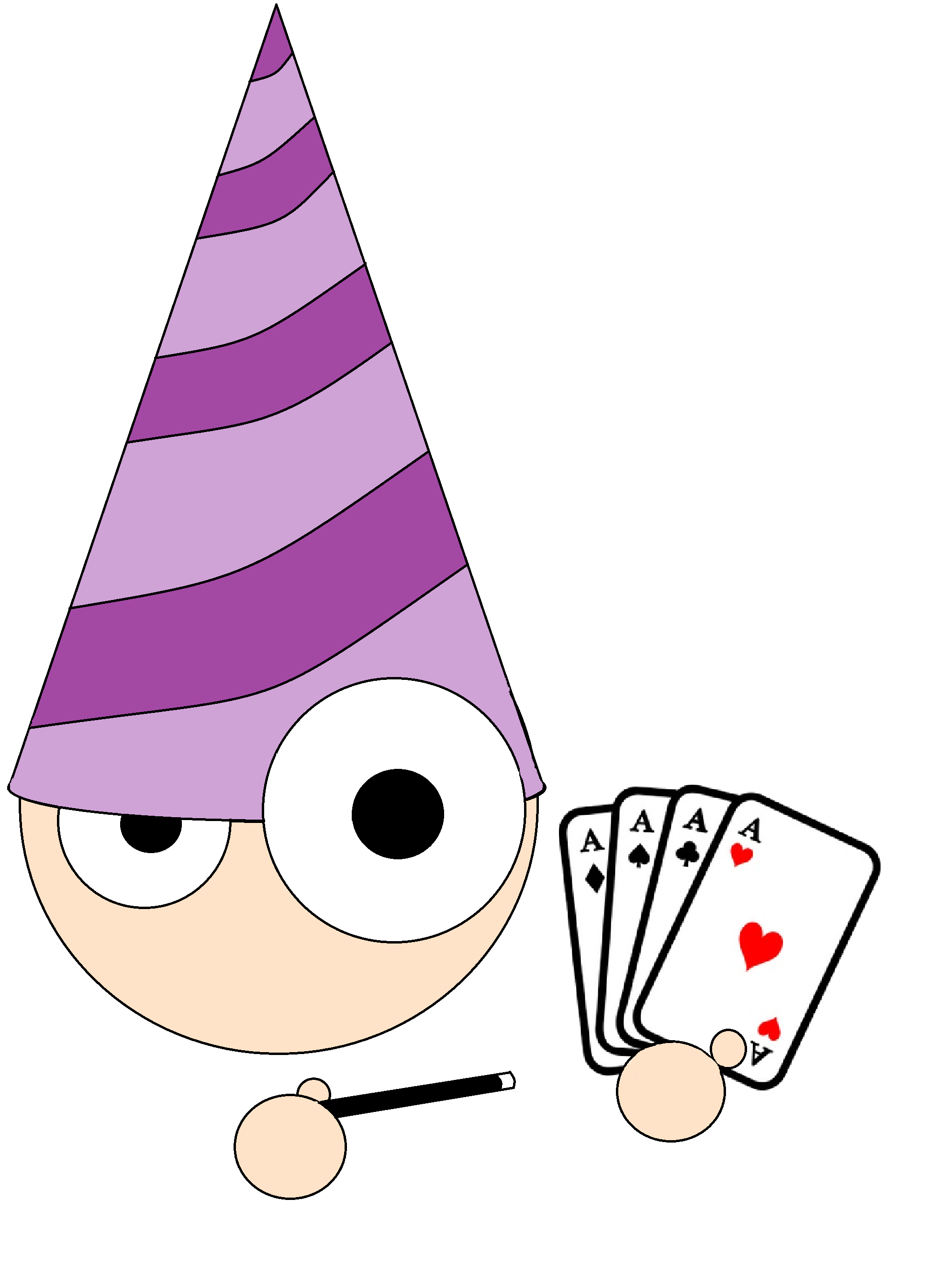 Magicians services for mississauga. Magician clipart holiday hat