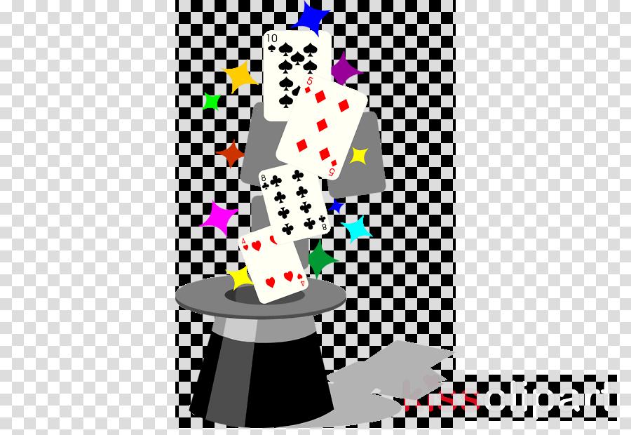 Magician clipart magician card. Background magic design line