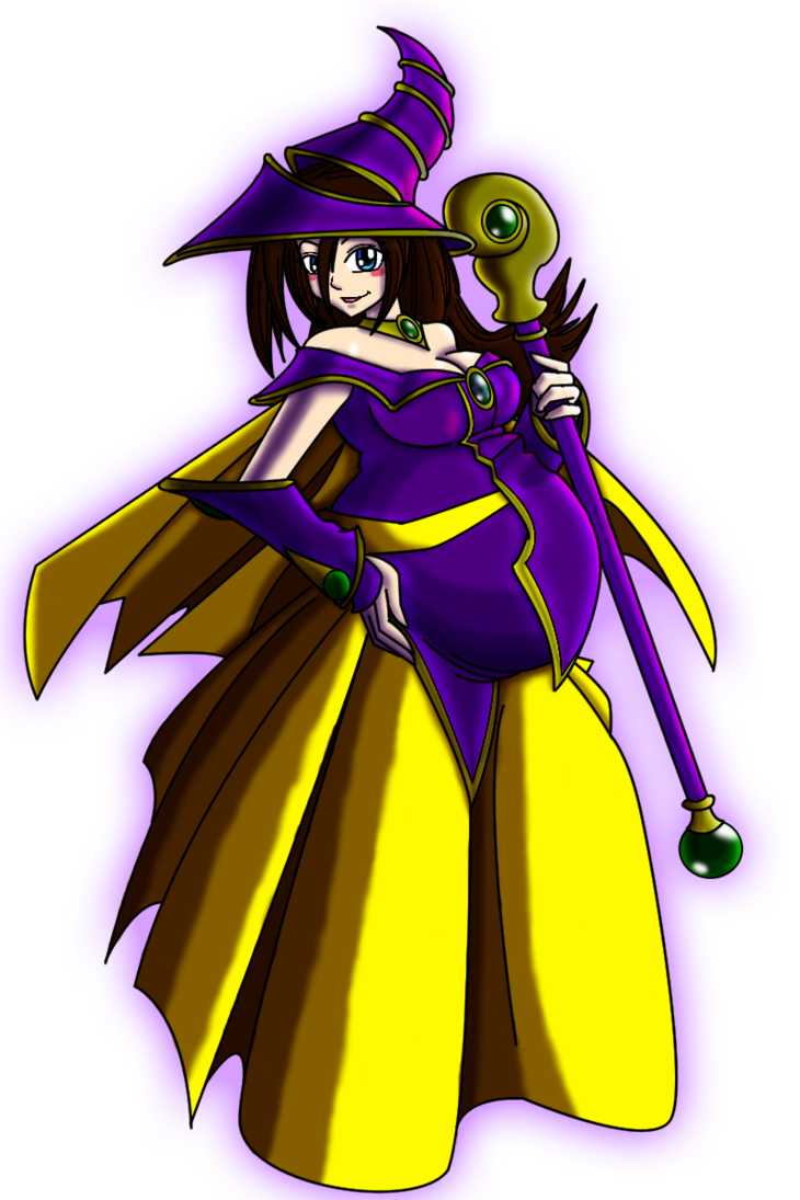 Dark magician by jam. Mother clipart full body