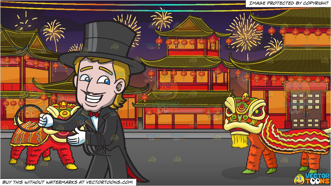 Magician clipart new years eve. A with rings and