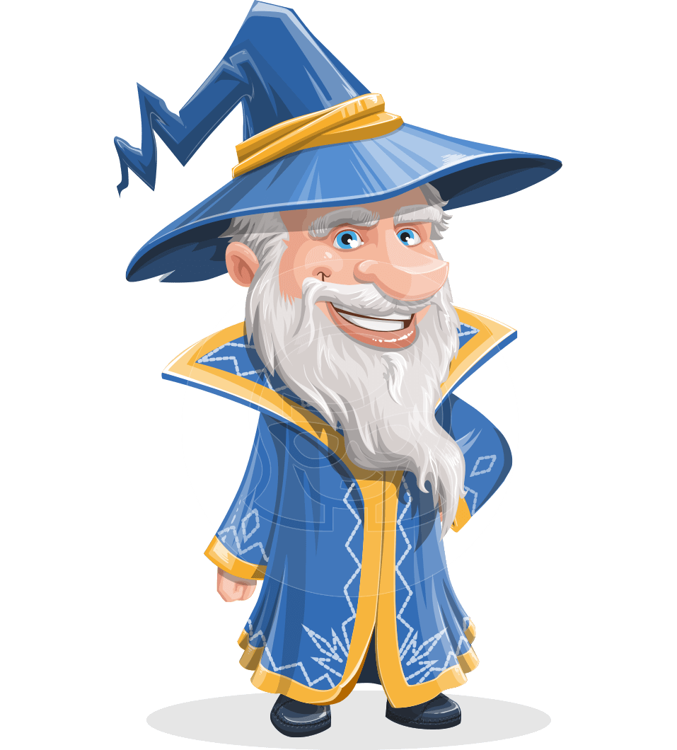 Magician clipart old magician. Waldo the wise wizard