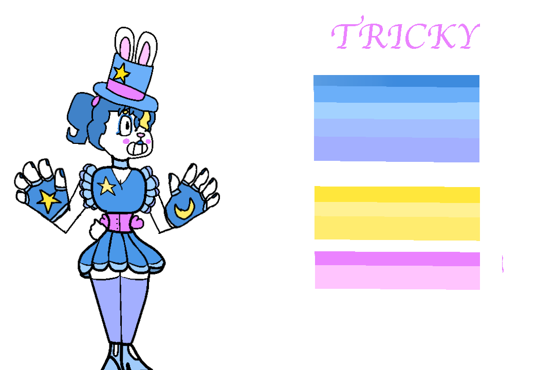 Trixie the rabbit by. Magician clipart tricky