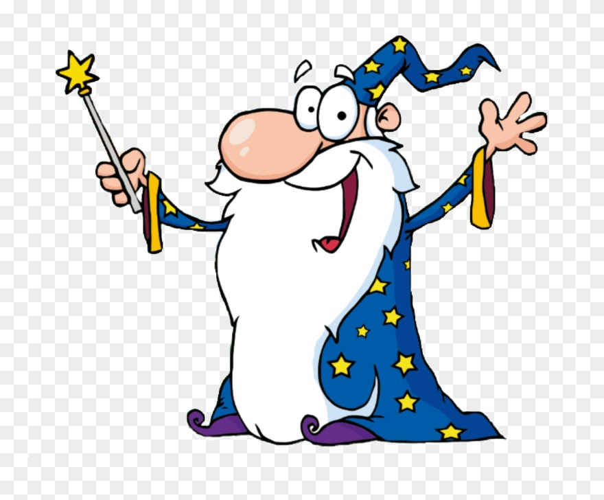 Magician clipart wizard. Income tax cartoon images