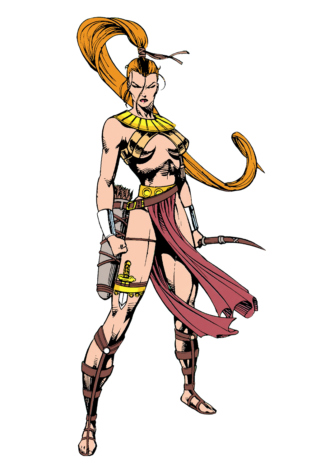 Artemis of bana mighdall. Magician clipart woman