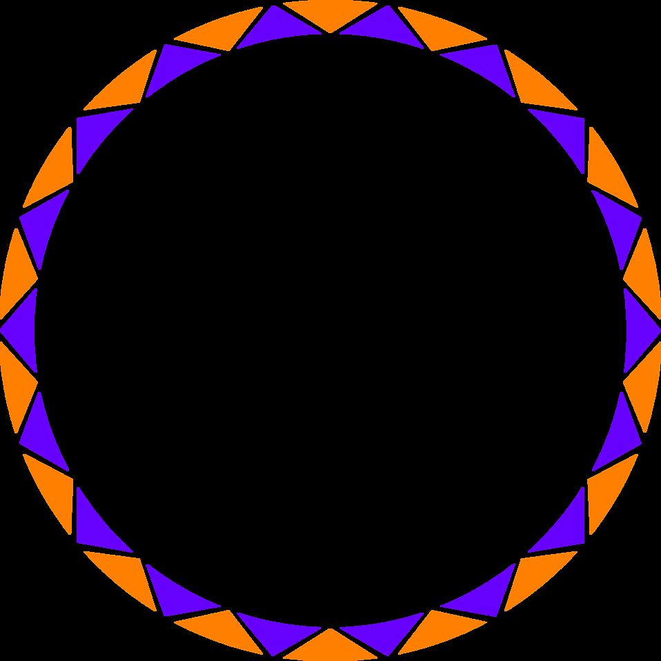 Free stock photo illustration. Circular border png