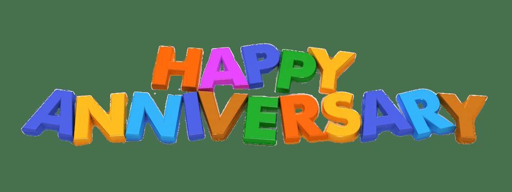 Happy anniversary letters transparent. Magnet clipart letter