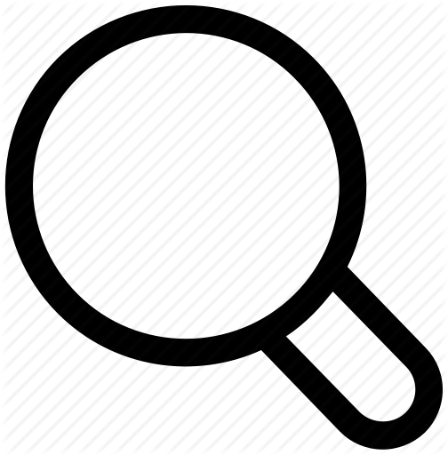 Seo marketing by iconfolder. Magnifying glass icon png