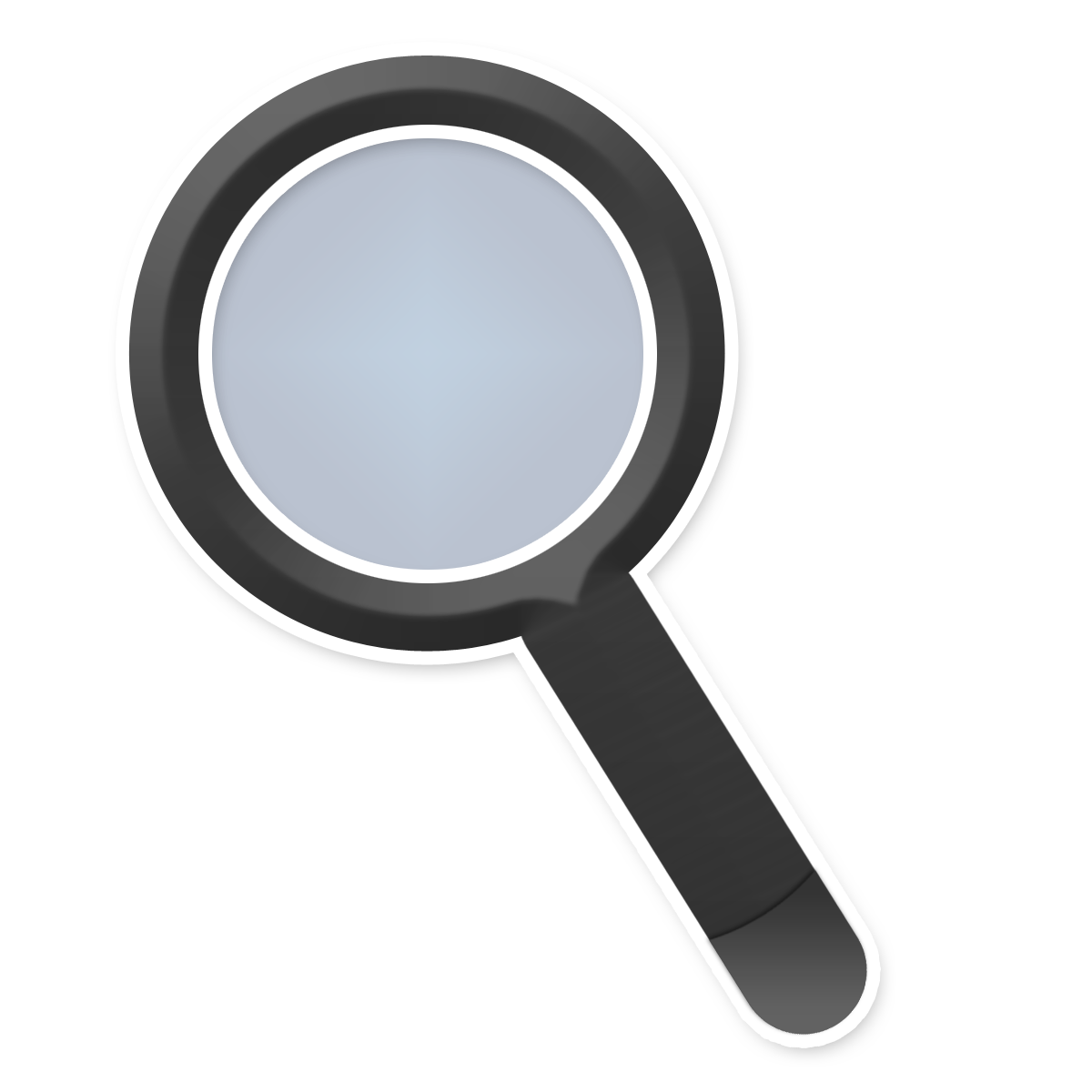 Magnifying glass vector png. Free icons and backgrounds