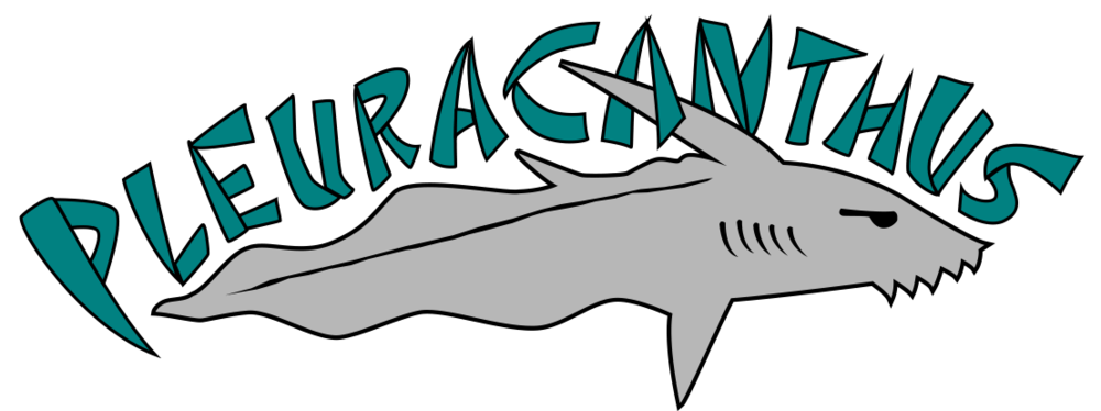 Xray clipart fish. About pleuracanthus records