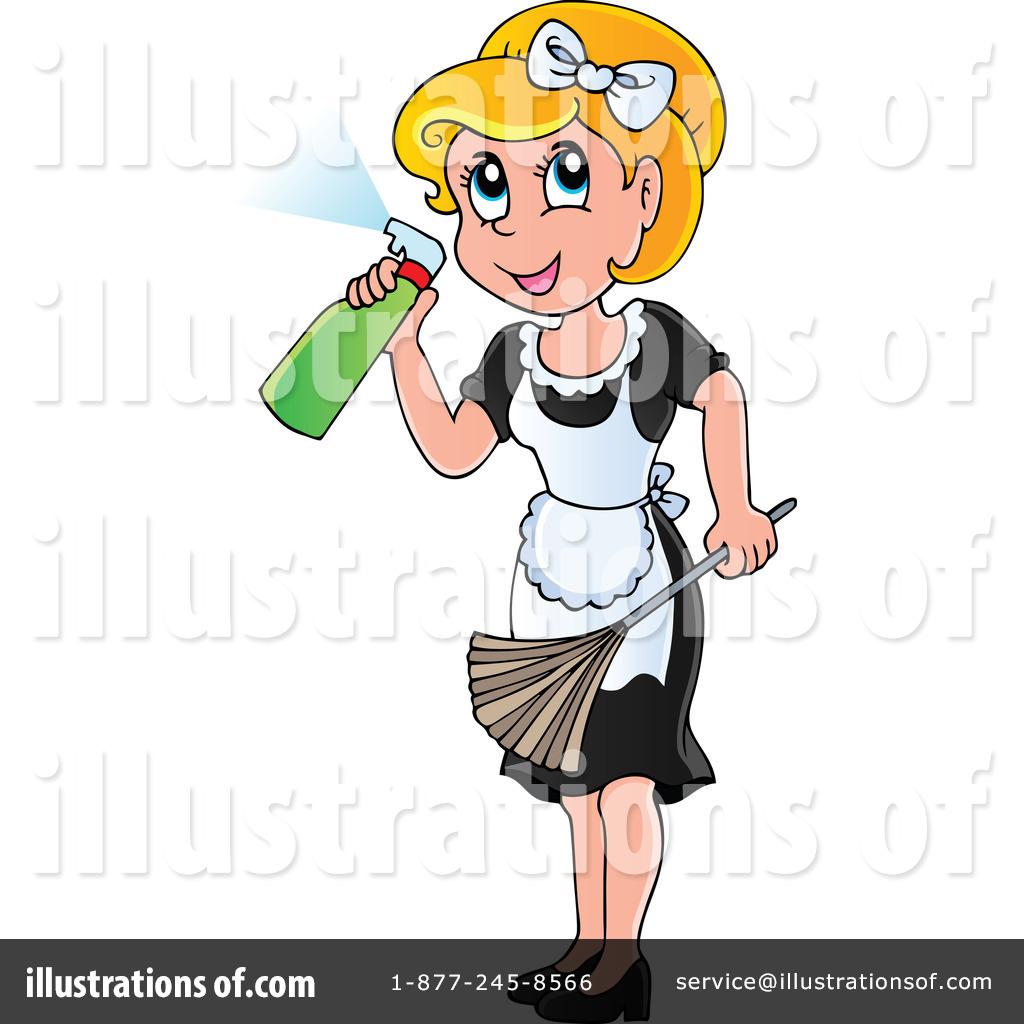 Maid clipart. Illustration by visekart royaltyfree