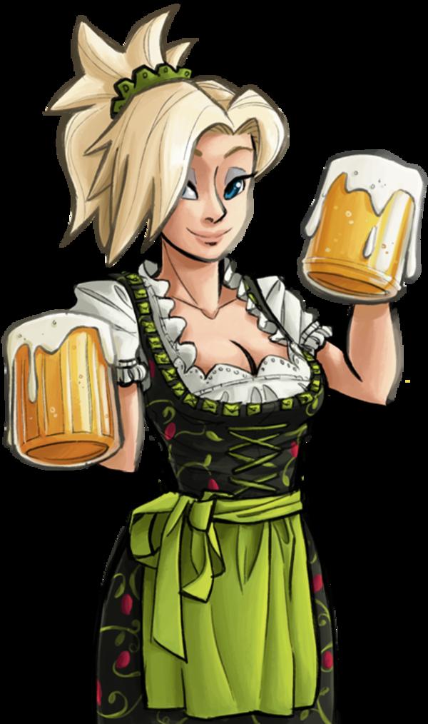 The best medicine overwatch. Maid clipart beer