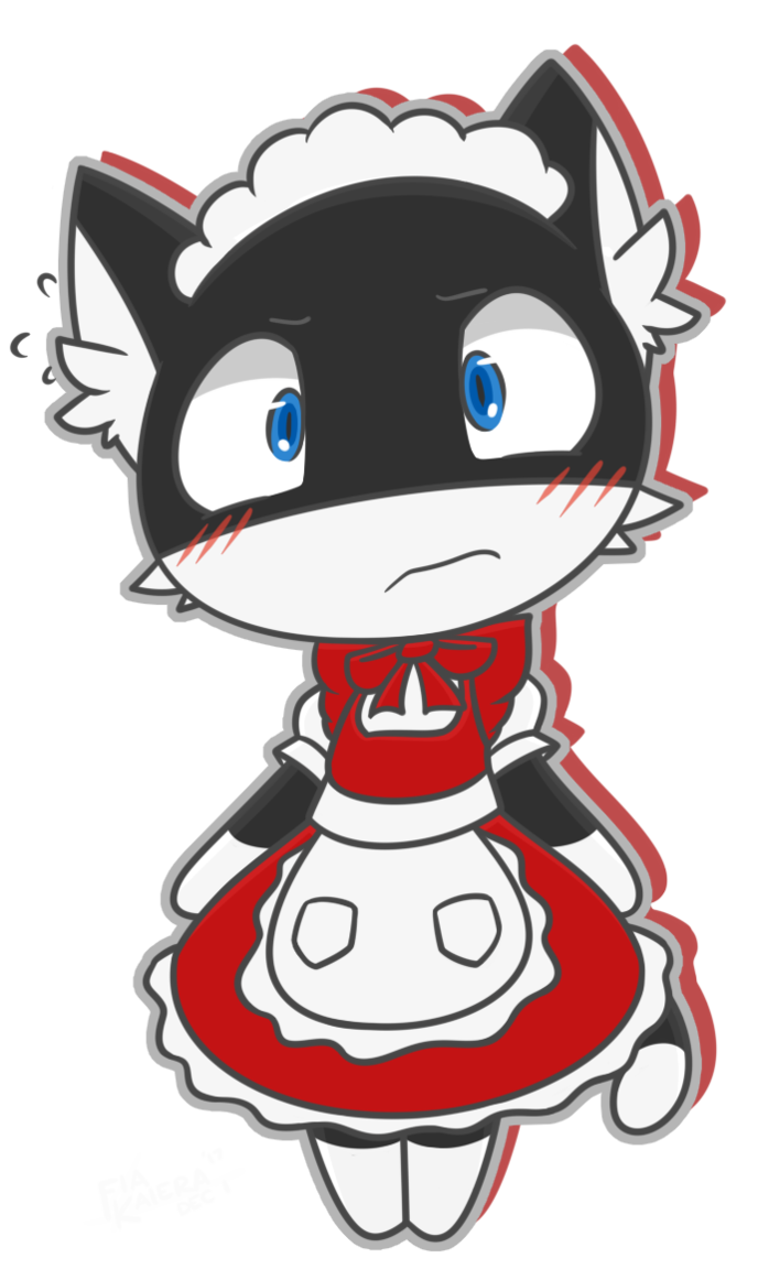 Maid clipart butler. Morgana and dlc by
