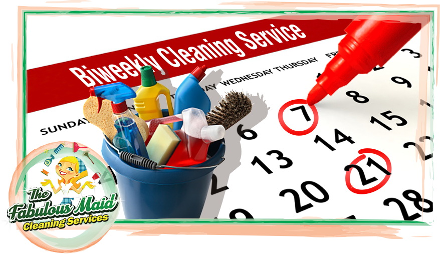 Maid clipart cleaning bathroom. Biweekly house service the