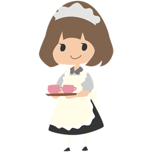 Cliparts of free download. Maid clipart cute