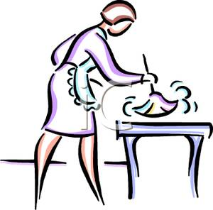 Maid clipart dusting. Clip art image a
