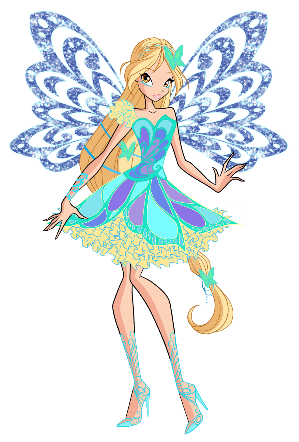 Winx club daphne butterflix. Maid clipart fairy
