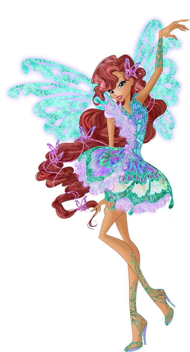 Maid clipart fairy. Aisha layla butterflix couture