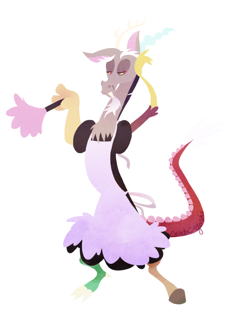 Obligatory discord by celebi. Maid clipart feather duster