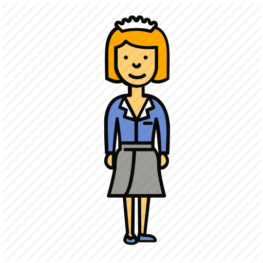 Maid clipart female servant.  users professions by