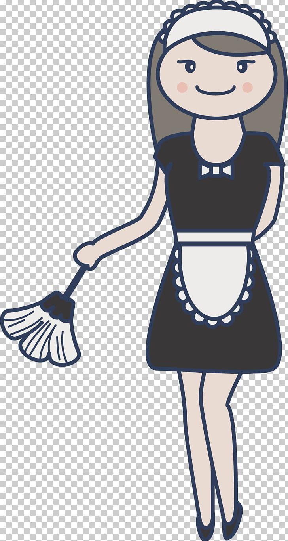 Apron png anima arm. Maid clipart female servant