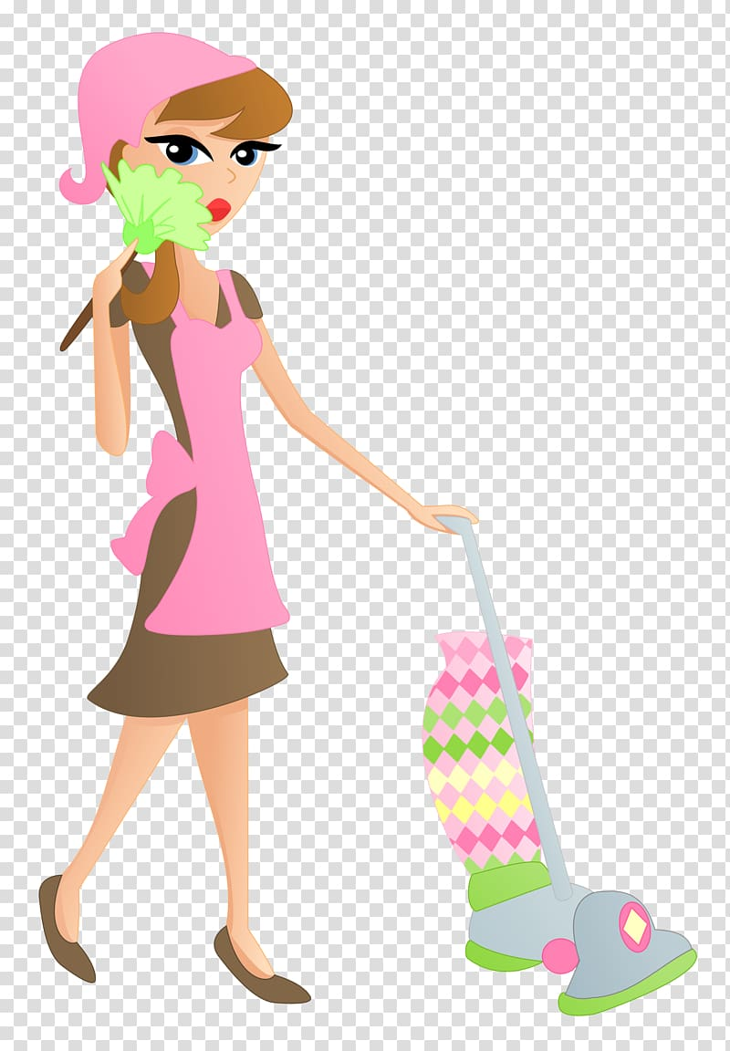 Cleaner service transparent . Maid clipart general cleaning