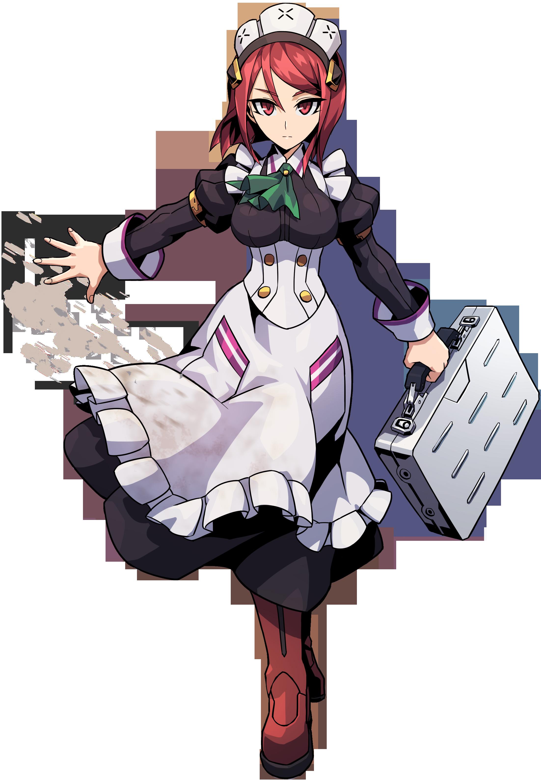 Maid clipart headband. Nori azure striker wiki