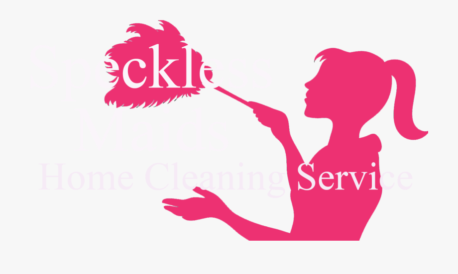 Maid clipart home cleaning service. Services logo