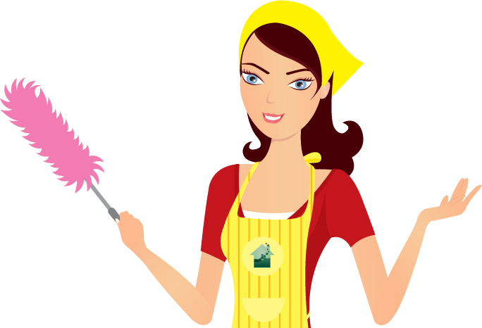 Maid house cleaner