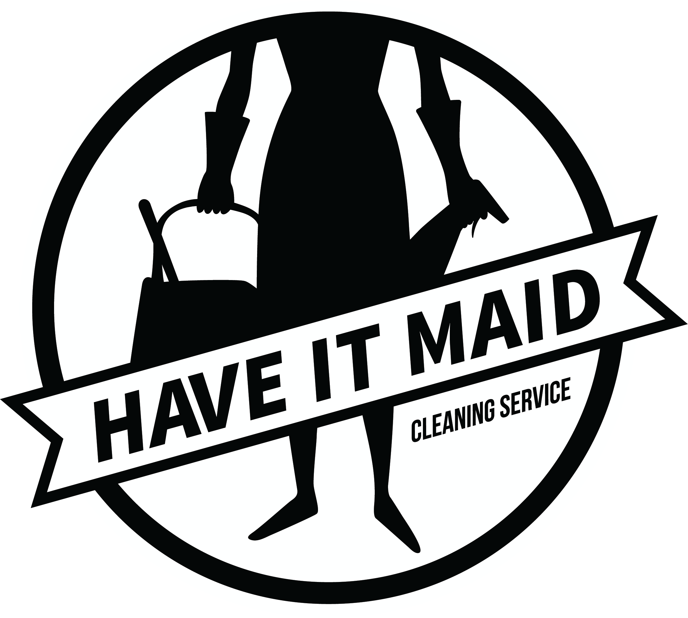 New cleaning company launches. Maid clipart housekeeping staff
