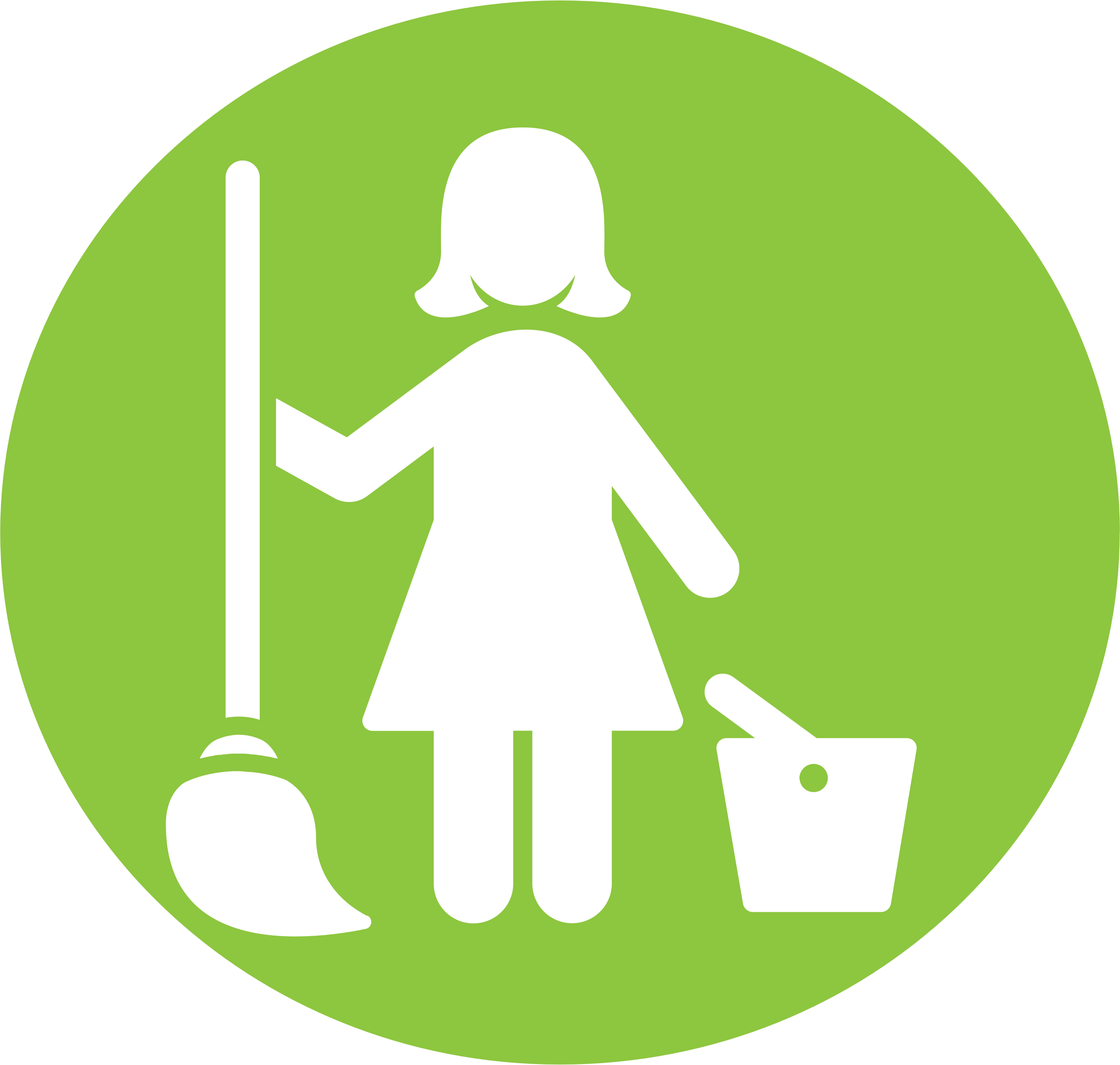 Maid clipart icon. Pictogram big image png