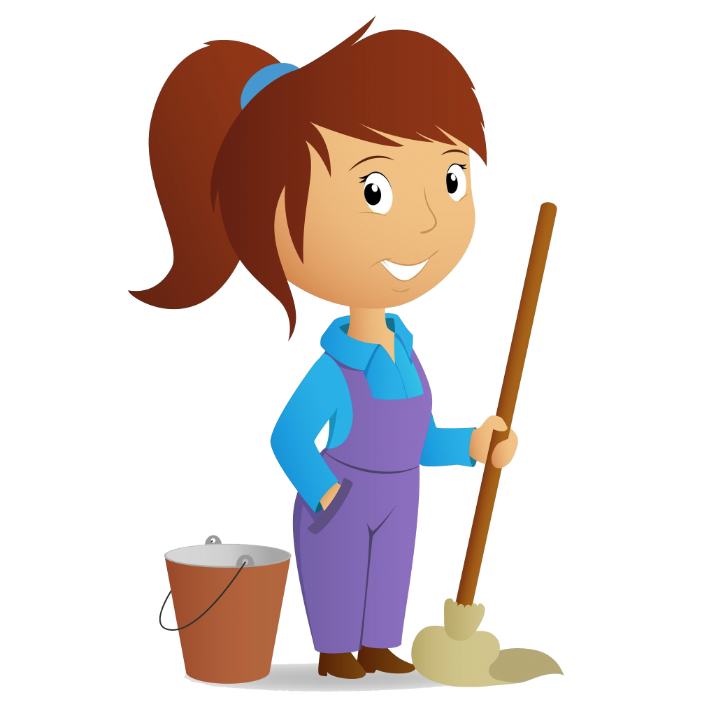 Maid clipart janitor. On call maidoncall phil