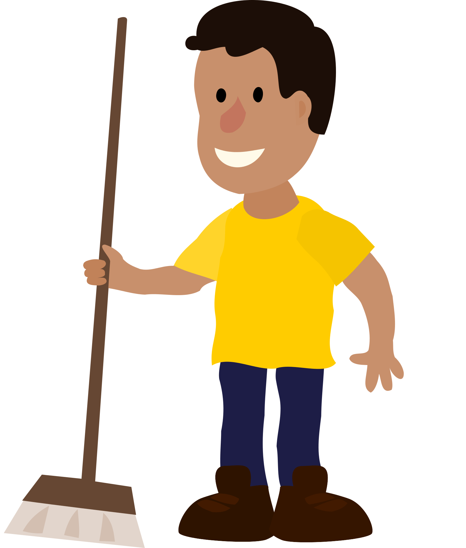Meide singapore hire house. Maid clipart janitor