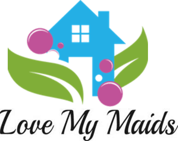 My maids cleaning services. Maid clipart love house